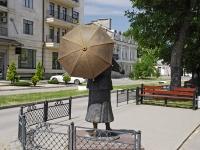 Таганрог, памятник Фаине Раневскойулица Фрунзе, памятник Фаине Раневской