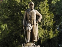 Азов, улица Московская. памятник Шеину Алексею Семёновичу