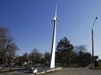 Azov, monument СтрелаMoskovskaya st, monument Стрела