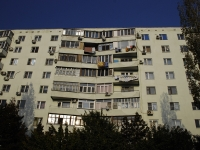 Azov, Pushkin st, house 115. Apartment house