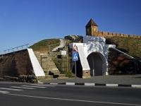 Азов, памятник архитектуры Алексеевские воротаулица Дзержинского, памятник архитектуры Алексеевские ворота