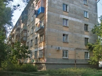 Samara, Pobedy st, house 20. Apartment house with a store on the ground-floor