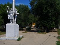 Самара, улица Победы, сквер