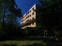 Самара, Безымянный 1-й переулок. строящееся здание долгострой