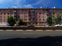 Samara, Pobedy st, house 14. Apartment house with a store on the ground-floor