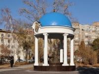 Самара, площадь Ильинская. памятник митрополиту Иоанну Снычеву