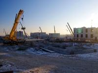 Samara,  . building under construction