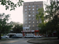 Samara, Aerodromnaya st, house 12. Apartment house with a store on the ground-floor