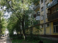 Samara, Aerodromnaya st, house 50. Apartment house with a store on the ground-floor