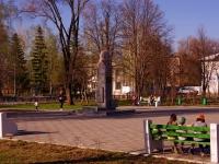 Самара, улица Лесная (п. Берёза). сквер