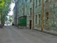 Samara, Sarapulskiy alley, house 31. Apartment house with a store on the ground-floor