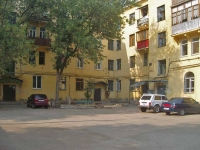 Samara, Svobody st, house 81. Apartment house with a store on the ground-floor