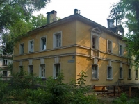 Samara, alley Slavny, house 10. Apartment house