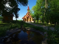 Samara, st Sovetskoy Armii, house 29. temple