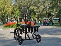 Самара, улица Советской Армии. скульптура Велосипед моего детства