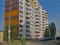 Samara, st Sovetskoy Armii, house 123. Apartment house