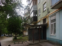 Samara, Sovetskoy Armii st, house 132. Apartment house with a store on the ground-floor