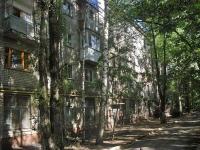 Samara, Sovetskoy Armii st, house 146. Apartment house with a store on the ground-floor