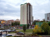 Samara, st Sovetskoy Armii, house 124/СТР. building under construction