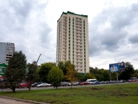 Samara, st Sovetskoy Armii, house 124А/СТР. building under construction