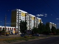 neighbour house: st. Sovetskoy Armii, house 107. Apartment house
