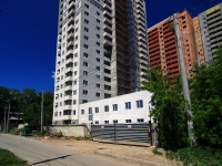 Samara, building under construction жилой дом, 3rd Ln, house 37
