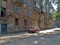 Samara, Fizkulturnaya st, house 98. Apartment house with a store on the ground-floor