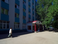 Самара, Безымянный 1-й переулок, дом 14. общежитие Самарского государственного университета путей сообщения
