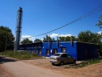 Samara, st Entuziastov, house 82А. service building