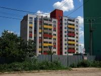 Samara, alley Baykalskiy, house 10. building under construction