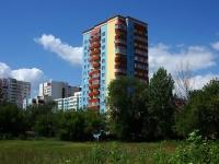 Samara, alley Granatny, house 15. Apartment house