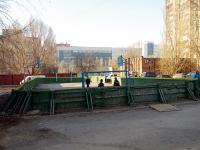 Самара, улица Дачная. спортивная площадка