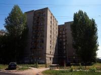 Самара, улица Блюхера, дом 23А. общежитие ПГСГА