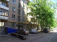 Samara, st Klinicheskaya, house 14. Apartment house with a store on the ground-floor
