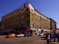 "neighbour house: st. Leningradskaya, house 37. hotel Отель ""Азимут"""