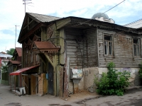 Samara, Lev Tolstoy st, house 34. Apartment house with a store on the ground-floor