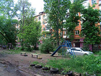 улица Революционная, дом 50. многоквартирный дом