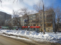Samara, Revolyutsionnaya st, house 145. Apartment house with a store on the ground-floor
