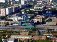 Самара, вокзал Железнодорожный вокзал станции Самара,  Комсомольская площадь, дом 1