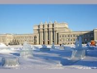 萨马拉市,   Самарский академический театр оперы и балета , Kuybyshev square, 房屋 1