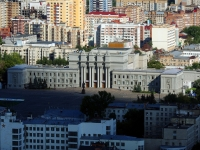 Samara, square Kuybyshev, house 1. theatre