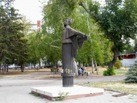 Samara, monument А.С. ПушкинуChapaev square, monument А.С. Пушкину