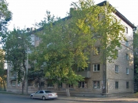 Samara, blind alle Novovokzalny, house 24. Apartment house