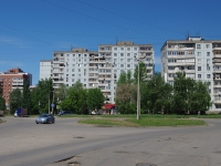 Samara, Silin st, house 4. Apartment house