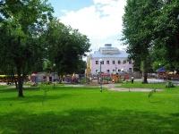 Самара, улица Сергея Лазо. детская площадка