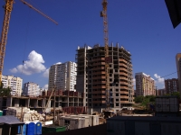 Samara, st Tverskaya, house 1. building under construction