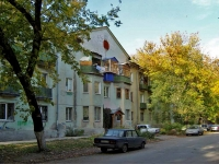 Samara, st Yeniseyskaya, house 4. Apartment house