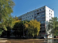 Samara, Metallistov st, house 41. Apartment house with a store on the ground-floor