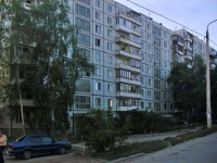 Samara, Kirov avenue, house 186. Apartment house
