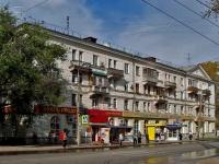 Samara, avenue Metallurgov, house 8. Apartment house with a store on the ground-floor